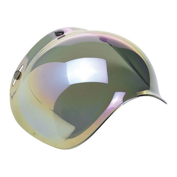 Visiera Casco Jet Biltwell Original Bubble Shield Smoke Gradient Cafe Racer