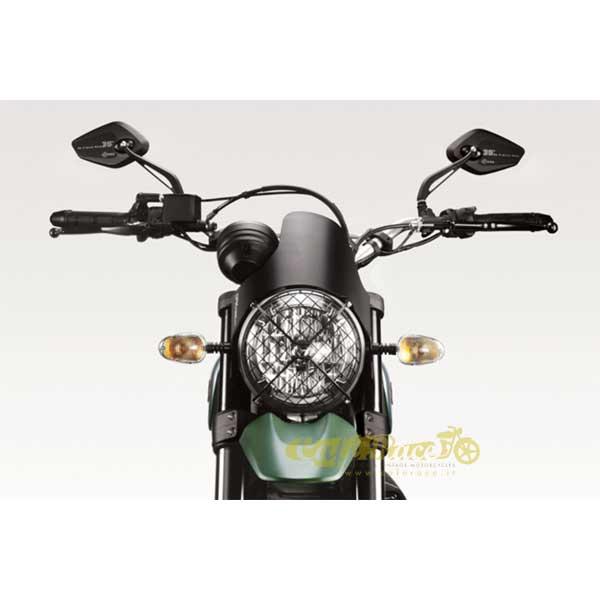 Cupolino Darklight De Pretto Per Ducati Scrambler 800 Dal 2015 In