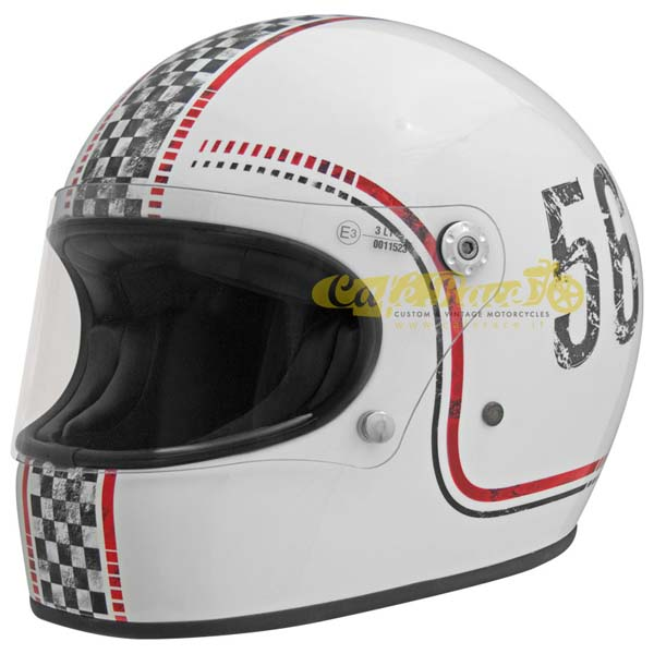Multicolore Premier Casco Premier Trophy Retro M